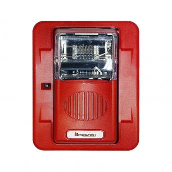 Còi gắn tường hình vuông màu đỏ HEH24-WR