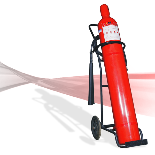 Bình chữa cháy xe đẩy CO2