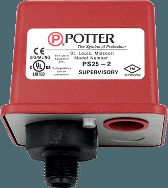 Công Tắc Áp Lực Potter PS25