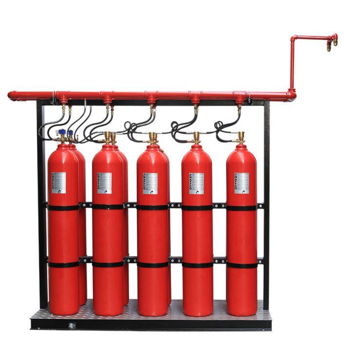 Hệ thống chữa cháy khí CO2 UBE