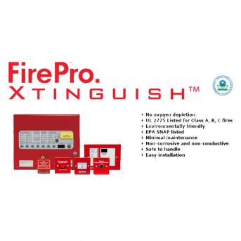 Hệ Thống Chữa Cháy Khí Aerosol Hochiki Firepro