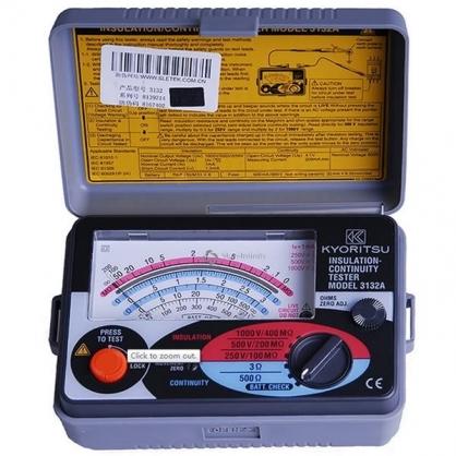 Thiết bị đo điện trở chống sét Kyoritsu 3132A