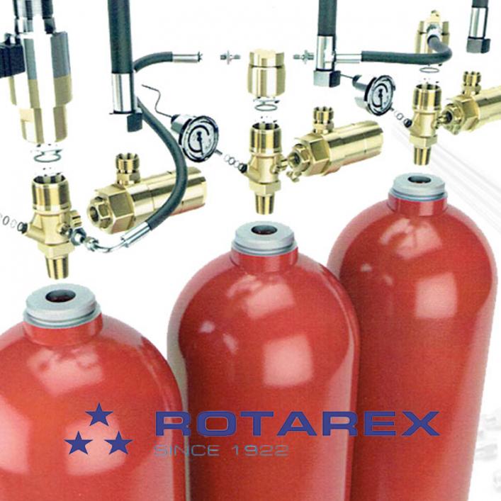 Bình khí nito Rotarex và phụ kiện