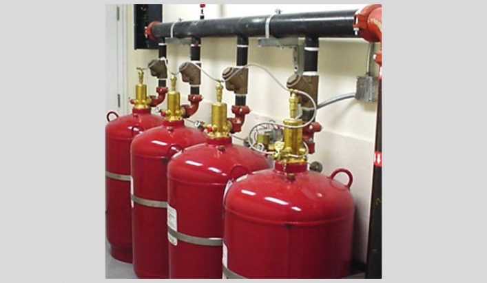 Hệ thống chữa cháy khí IG100