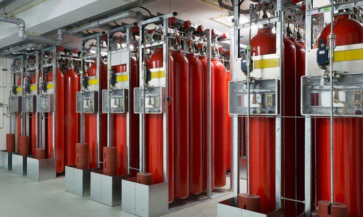 Hệ thống chữa cháy khí nito
