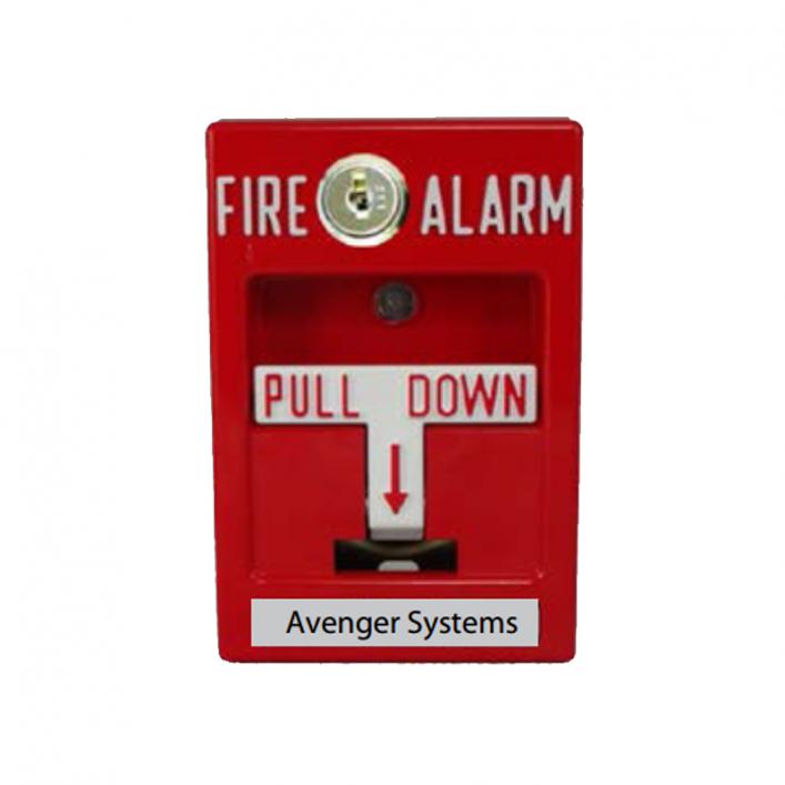 Nút Nhấn Báo Cháy Địa Chỉ AS3032-10