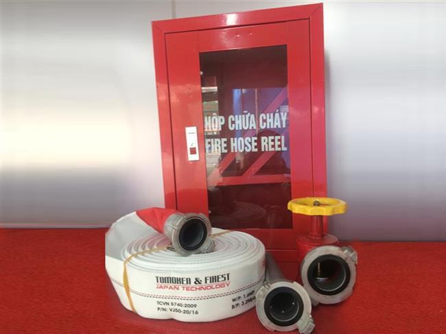 Các thiết bị chính trong hệ thống chữa cháy họng nước vách tường