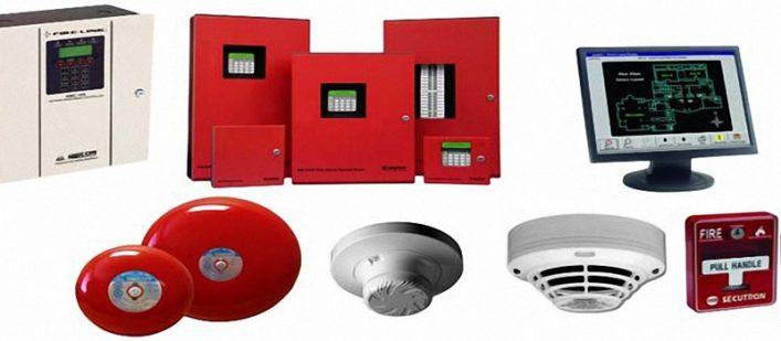 Các thiết bị trong hệ thống báo cháy