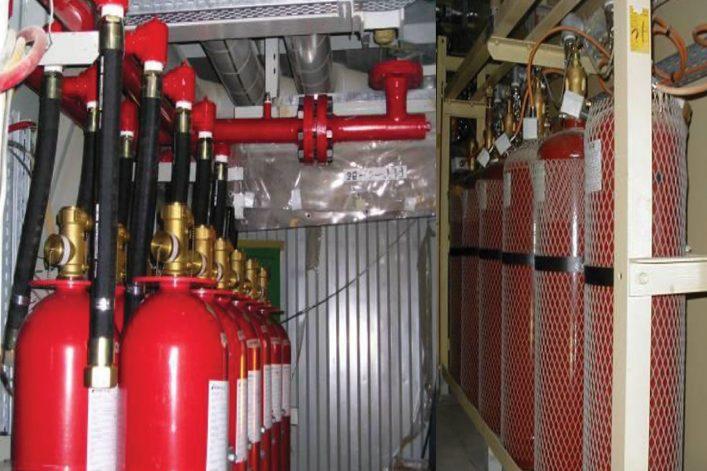 Hệ thống chữa cháy khí FM200
