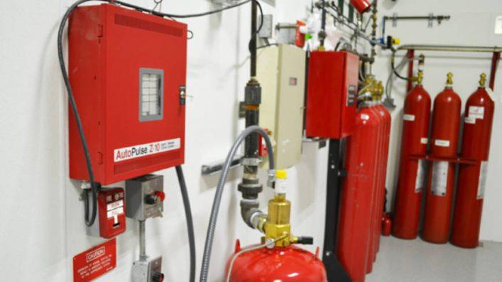 Hệ thống chữa cháy khí FM200 và các thiết bị
