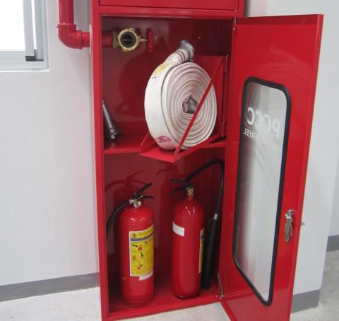 Hộp đựng phương tiện chữa cháy cho hệ thống chữa cháy họng nước vách tường