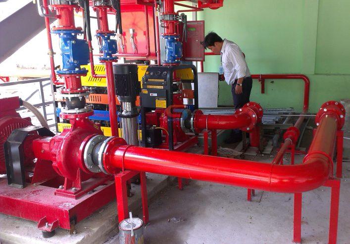 Kiểm tra, bảo trì, bảo dưỡng hệ thống chữa cháy nước