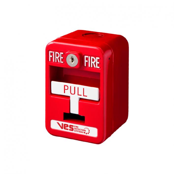 Nút Nhấn Báo Cháy Địa Chỉ 1 Thao Tác VF3001-10