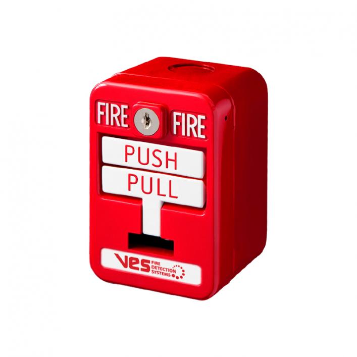 Nút Nhấn Báo Cháy Địa Chỉ 2 Thao Tác VF3002-10