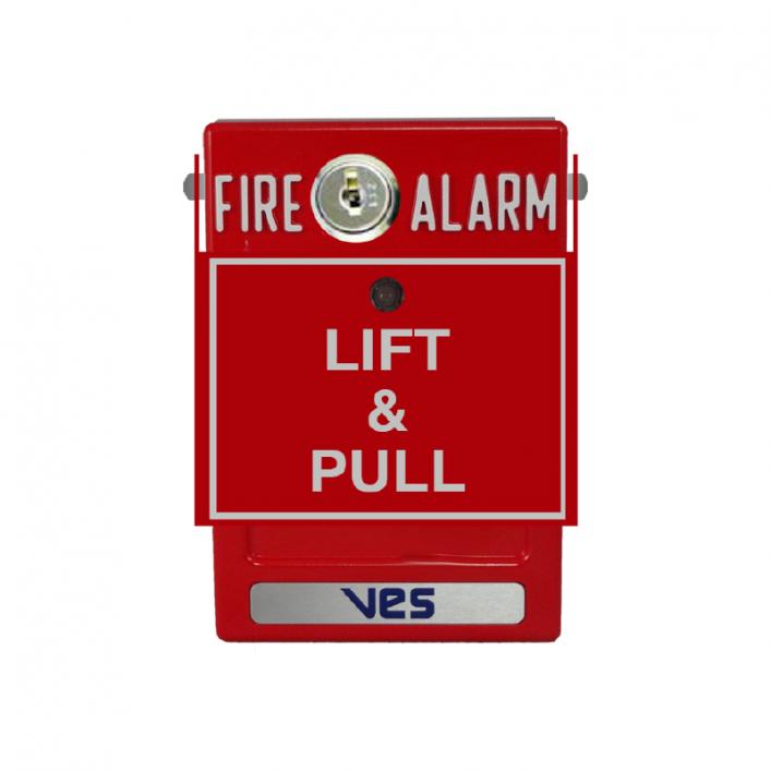 Nút Nhấn Báo Cháy Địa Chỉ VF3029-10