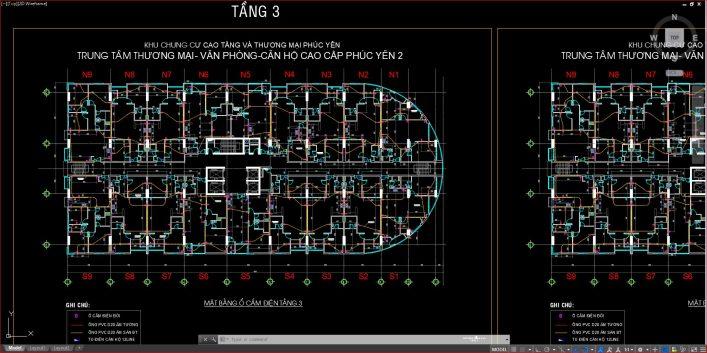 Bản vẽ chi tiết thiết kế PCCC