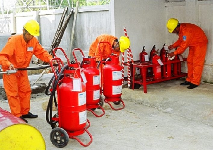 Bảo trì, bảo dưỡng bình chữa cháy