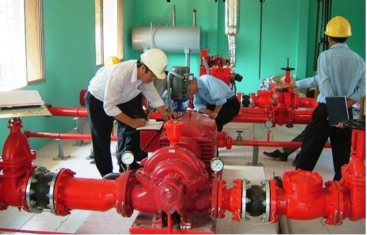 Bảo trì, bảo dưỡng máy bơm chữa cháy