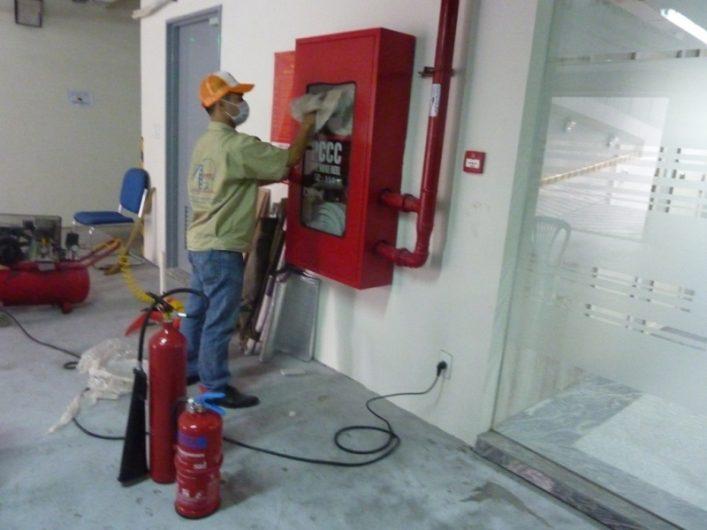 Bảo trì hệ thống họng nước chữa cháy vách tường