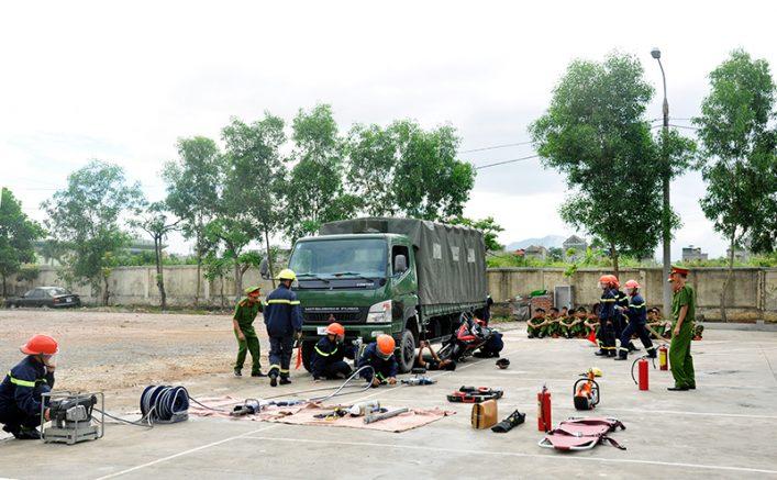 Kiểm định các phương tiện phòng cháy chữa cháy