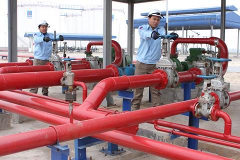 Thi công đường ống cấp nước chữa cháy